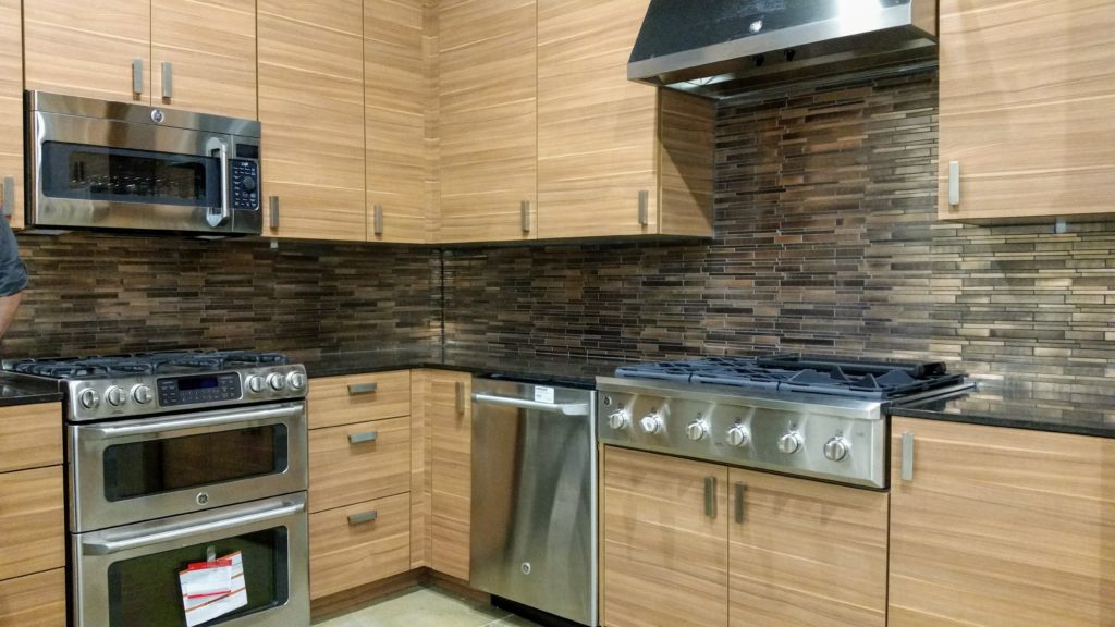 Ferguson Showroom Kitchen Display Tile Upgrade After